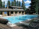 Large shared pool complex with 4 hot tubs