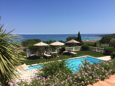 Photo for Charming villa with exceptional sea views (Nartelle beach)