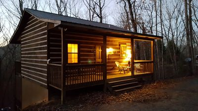 Photo for Rest & Relaxation Cabin, Cozy Romantic Getaway  - Free Wifi!