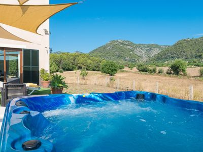 Photo for SHORT DE MONNABER (VILLA ERA) - Chalet with shared pool in Campanet.