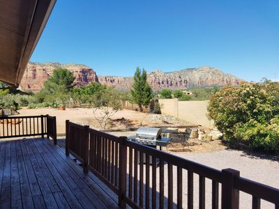 Photo for Amazing Views! 5 Star Reviews! Open Floor Plan! Updated Sedona Home!
