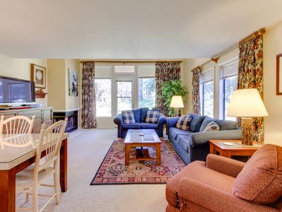 Photo for Enjoy a shared hot tub, swimming pools & gym, close to golfing and Payette Lake!