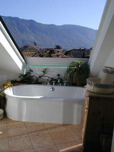 Photo for Private apartment over the roofs of Lana near Meran (South Tyrol)