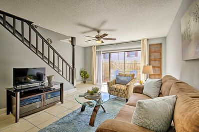 Make this Tampa vacation rental townhome your home-away-from-home.