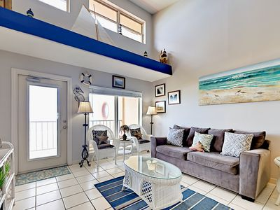 Photo for TurnKey - Beachfront 2BR South Padre Condo w/ Pool & Hot Tub