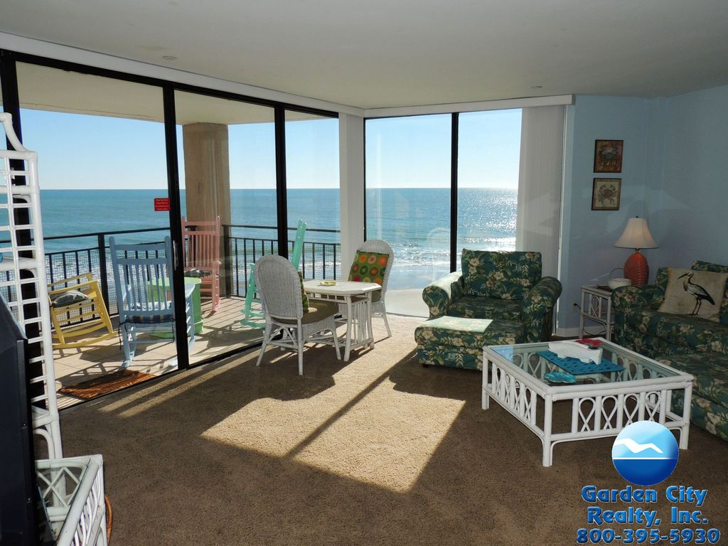 Surfmaster 207 Three Bedroom Three Bath Oceanfront Condo Garden City Beach Myrtle Beach