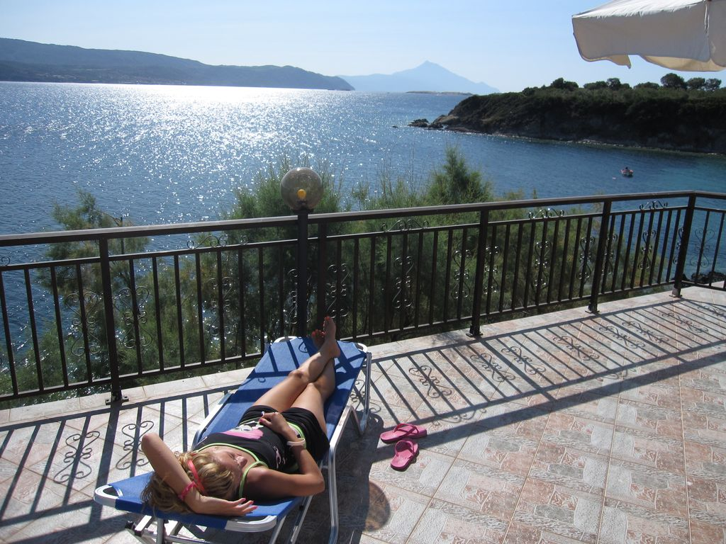 Beachfront 4BR Ammouliani Island VRBO