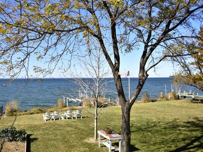 Photo for *** NEW RENTAL*** Beautiful Chesapeake Bay Sunsets & Private Gated Garden