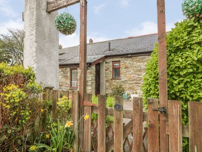 Photo for POLDARK COTTAGE, romantic, with a garden in East Taphouse, Ref 926203