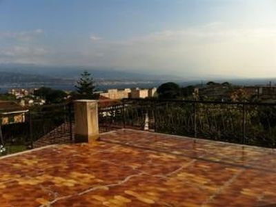 Photo for Panoramic villa on the Straits of Messina
