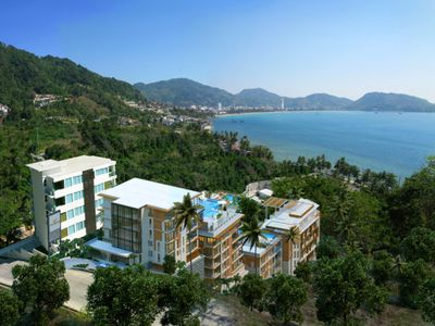 Photo for Patong Bay Pool 2Bed Condo Sea view
