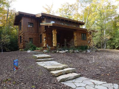 Photo for Stunning Door County Cabin In The Woods, Wi-Fi, Firepit, Fireplace, Game Room
