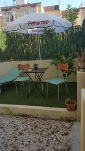 Photo for Cozy apartment in Ajuda (Belém) with backyard