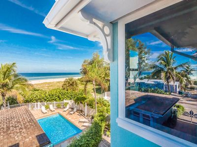 Palm Gables 112: Gorgeous Gulf Front Condo, Steps to Beach, with Heated Pool