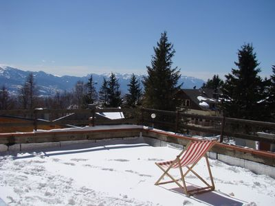 Photo for CHARMING APARTMENT NEAR THE CENTER WITH TERRACE AND VIEW THE PYRENEES
