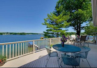 Photo for Waterfront Home on Silver Lake Book Now for 2020