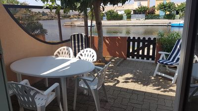 Photo for 6 pers house on the lake with 2 bedrooms, 2 terraces, large barbecue.
