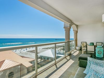 Photo for Astounding Gulf Front View with 2 Heated Pools and a Free Dolphin Cruise!