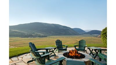 Photo for Western Log Lodge/Pastoral Valley View On 12 Acres With 4 Bdrm, 5 Baths/5000SF