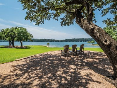 Photo for Modern Spicewood Cabin w/Patio- Pool & Lake Access
