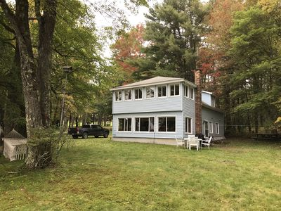 Photo for Lakefront near Berkshires, swimming, rafting hiking, perfect for families