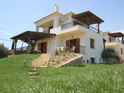 Photo for VILLA WITH SEA VIEW AND POOL AND WALK TO SANDY BEACH SLEEPS 9