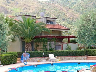 Photo for Fontana Barone Villa 5 - Semi-detached Villa with Swimming Pool, 600 Meters from a Sandy Beach ! - Free WiFi