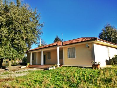 Photo for HOUSE WITH PARK AT 1 KM FROM THE SEA, 4 ROOMS AND 2 BATHROOMS