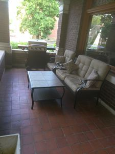 front porch - great for relaxing and people/car  watching