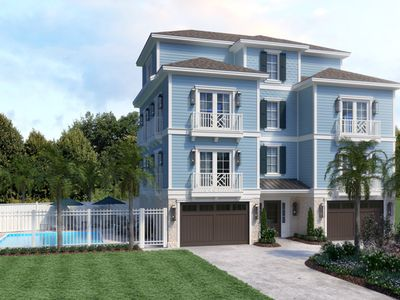 Photo for New Construction, Luxury Near Ocean Home, Private Pool, Chef's Kitchen!