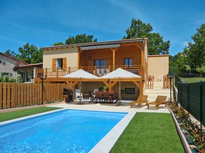 Photo for Mallefougasse-Auges Holiday Home, Sleeps 8 with Pool and Free WiFi