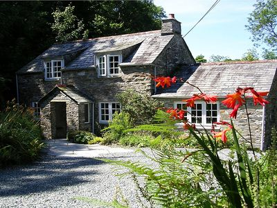 Photo for Cornish Cottage. Set In 7 Acres With Trout Fishing, Boscastle, North Cornwall.