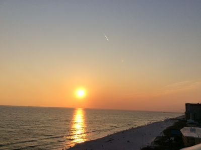 Gorgeous Sun Setting, View from the Balcony