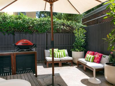 Photo for 2-Bed Balmain Retreat With Outdoor Patio