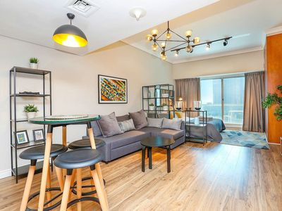 Photo for ★ Newly Designed Apt   Close to the Beach & Metro!