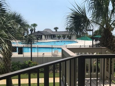 Photo for The Good Life!  Pool Front Ocean View Newly Renovated Condo in Litchfield by the Sea! Pools, Tennis, Bike Paths and Fishing!
