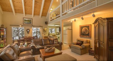 Photo for Tahoe home-3 bed + bonus room and loft, family & dog friendly!