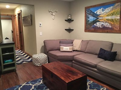 Photo for Gorgeous, Remodeled Condo, LOW RATES! 10 steps from Bus Stop!