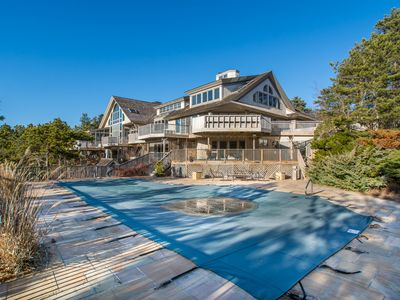 Photo for Spectacular 7-Bedroom Estate with Pool, Decks, Panoramic views of Cape Cod Bay