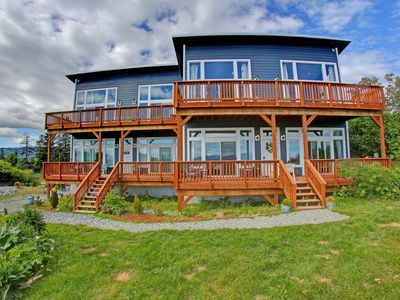 Photo for Oceanfront Luxury Penthouse Overlooking Kachemak Bay and the Homer Spit!