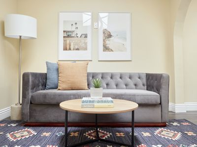 Photo for Sonder | The Marin | Welcoming Room + Sleeper Sofa
