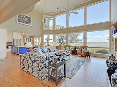 Photo for Luxurious 3BR w/ Beautiful Appointments & Stunning Marsh Views