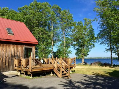 Photo for Beautiful Lake House w/ Private Beach