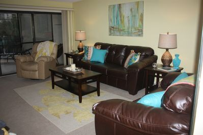 Enjoy Relaxing by Lagoon Pool & Enjoying the View of White Sand Beaches of Gulf!