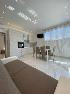 Photo for Large 2 bedroom apartment on the ground floor all new and modern with air conditioning .