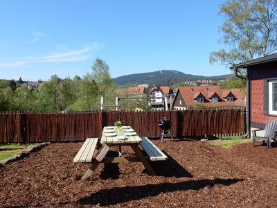 Photo for Comfortable apartment in the middle of the Harz region with garden and a great view