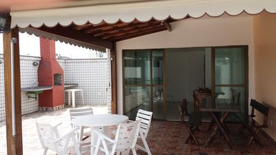 Photo for NEAR PARK OLIMPICO RIO2016, DUPLEX PENTHOUSE WITH 200 M2, 50 M FROM THE BEACH.