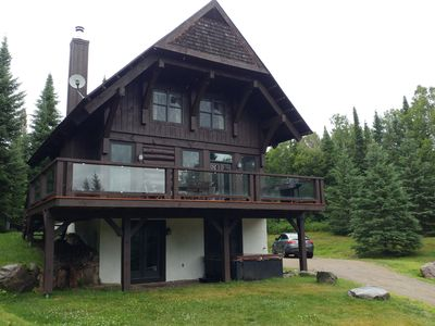 Photo for Cote Nord Tremblant Designer Luxury Log Cabin