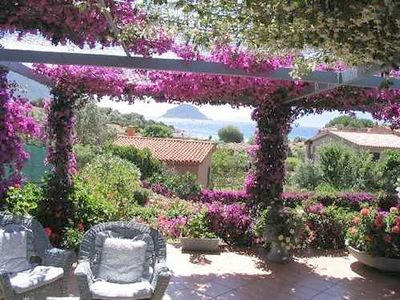 Photo for Fantastic vegetation and sea views - Villa Blumarin
