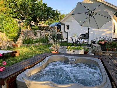 Photo for Holiday home Mendy with Jacuzzi in the garden in a quiet location above Tučepi